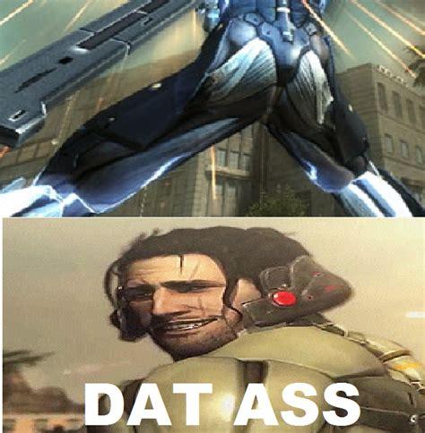 Metal Gear Rising Memes - dat ass meme metal gear rising revengeance by brandonale on deviantart