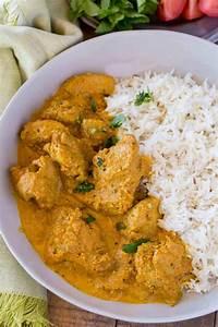 Indian Chicken Korma - Dinner, then Dessert