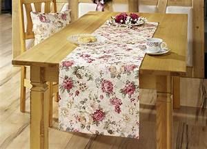 Tischdecke Oval 160x220 : tisch und raumdekoration mit rosen motiv wohnaccessoires brigitte hachenburg ~ Orissabook.com Haus und Dekorationen