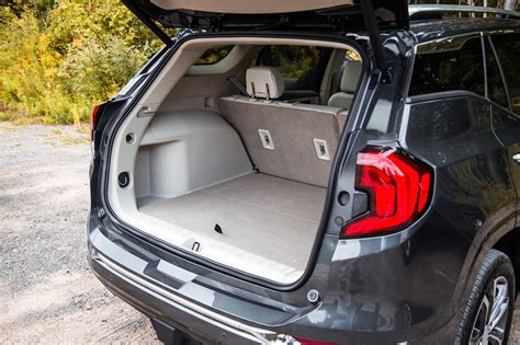 Trunk Space by Drive 2018 Gmc Terrain Canadian Auto Review