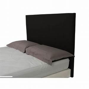 Tete De Lit Noire 140 : t te de lit alice noir d m 140 ~ Teatrodelosmanantiales.com Idées de Décoration