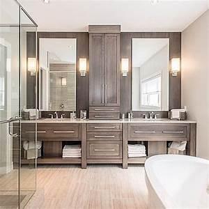 28, Stunning, Master, Bathroom, Ideas
