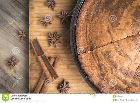 baked lie freshly zebra cinnamon anise sticks baking pie sheet wooden stars