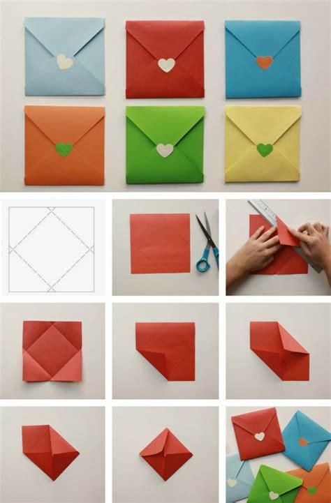 kleine briefumschläge basteln briefkuvert basteln dansenfeesten