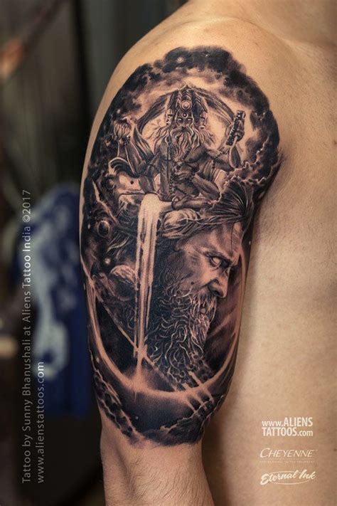 lord shiva tattoo designs  tattoo ideas pinterest shiva tattoo tattoo designs