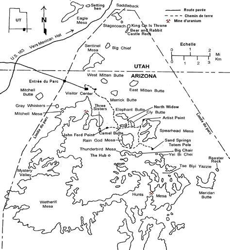 Carte Monument Pdf by Les Nains Voyagent Fiche N 176 6 K 233 Konvisite 224 Monument Valley