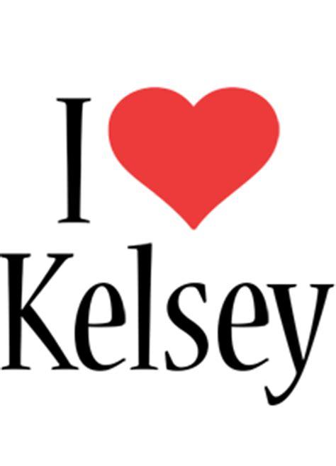 kelsey logo  logo generator  love love heart