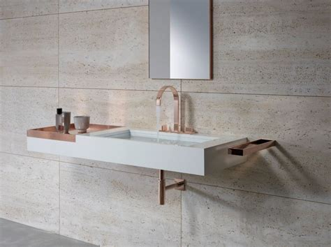 rose gold design faucets and accessories for bathroom and