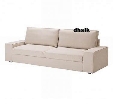 Ikea Kivik Sofa Bed Slipcover by Ikea Kivik Sofa Bed Slipcover Cover Ingebo Light Beige