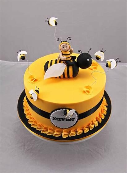 Bee Cake Birthday Cakes Beehive Bees Honey