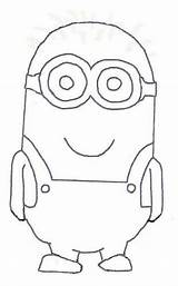 Minion Template Drawing Minions Blank Outline Flickr Fun Classroom Craft Something Templates Coloring Theme Clip Pages Explore Board Bulletin Crafts sketch template
