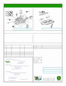 John Deere La115 Mower Deck Parts Diagram