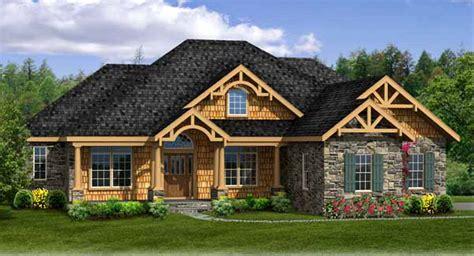 craftsman house plan  walk  basement