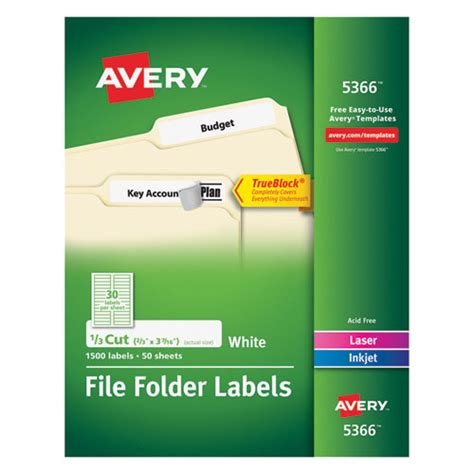 avery template 5366 avery 5366 labels