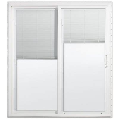 Jeld Wen Patio Doors Canada by Jeld Wen Dual Pane Vinyl Sliding Patio Door Lowe S Canada
