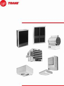Trane Cabinet Unit Heater
