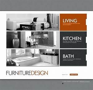 Live demo website design template 16896 solutions for Interior design style profile