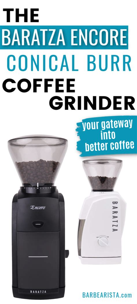 The road to a perfect cup of joe starts with quality beans and ends with a dizzying aroma of your espresso, lungo, or latte. Baratza Encore Conical Burr Coffee Grinder Review 2020. - BARBEARISTA