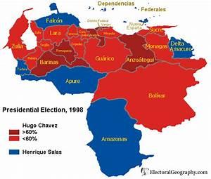 Venezuela. Presidential Election 1998 | Electoral ...