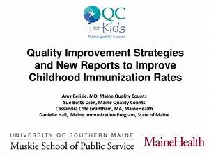 PPT - Quality Improvement Strategies and New Reports to ...