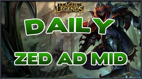 guide zed caster ad mid sur lol counters  build youtube