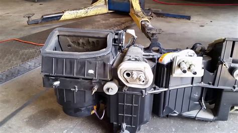 chevrolet  heater core replacement youtube