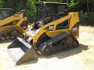 Cat 247b Track Skid Steer Loader