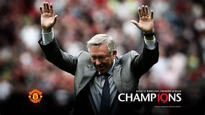 United Manchester Coach Alex Cool Utd Ferguson
