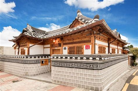 traditional korean house hanoks