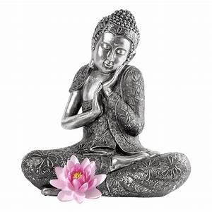 Sticker muraux ZEN Sticker mural Bouddha et de lotus Ambiance sticker
