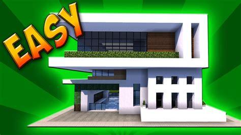 minecraft   build  modern house sleek  compact youtube