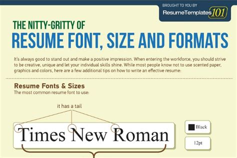 Font For Resumes by Acceptable Resume Fonts Best Resume Gallery