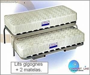Lits Gigognes 2 Matelas Pack Complet
