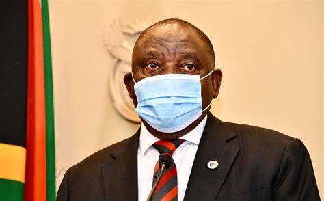 Ramaphosa will address the nation at 8 p.m. Family Meeting: President Ramaphosa Will Address the ...