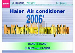 Haier Air Conditioner Manual Esa410k