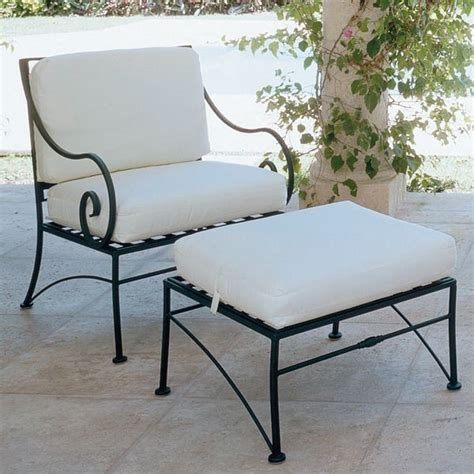 sheffield wrought iron lounge chair outdoor lounge