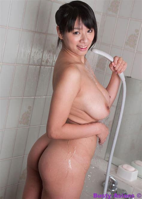 Busty Asian Hana Haruna Bathing Her Big Boobs Of