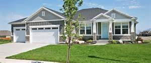 Rambler Style House Plans by House Plans