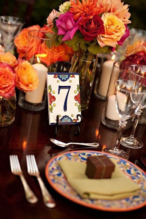 51 Unique Table Number Ideas For Wedding Receptions (and Diys