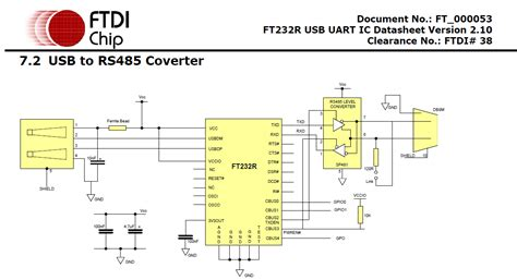 communication creating a usb to rs485 converter with