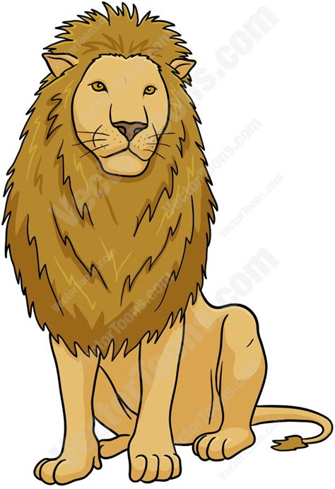 male lion clipart clipground