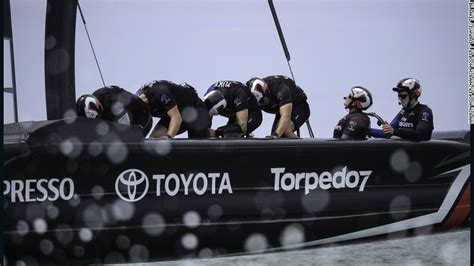 Pedal Boat Nz by America S Cup Team New Zealand Gambles On Pedal Power Cnn