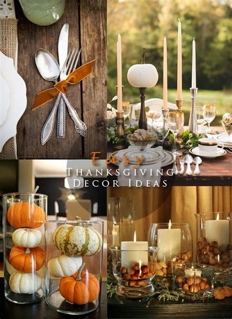thanksgiving decor pinterest thanksgiving table decoration ideas photograph
