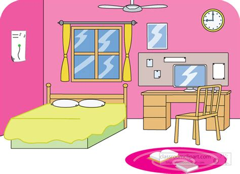 Bedroom Clipart by Home Bedroom 2 Classroom Clipart