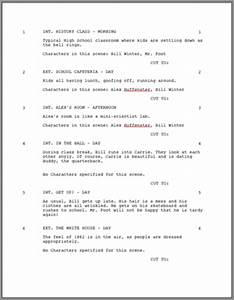 movie script outline template gallery With screenplay outline template
