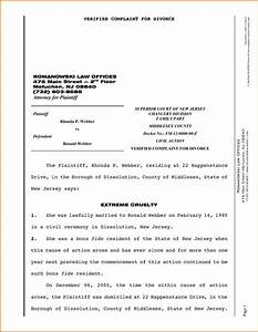 Divorce papers template nj templates resume examples for Divorce documents nj