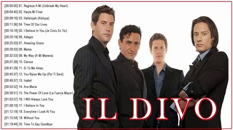 Il Divo New Cd by Il Divo Greatest Hits Album Best Songs Of Il Divo