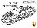 Coloring Nascar Race Stewart Printable Boys Tony Cars Colouring Sheets Driver Yescoloring Yes Avengers Force sketch template