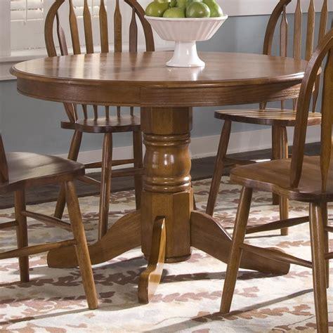 liberty furniture nostalgia pedestal dining table