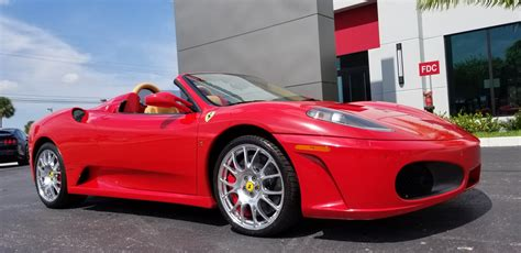 The ferrari f430 (type f131) is a sports car produced by the italian automobile manufacturer ferrari from 2004 to 2009 as a successor to the ferrari 360. Used 2008 Ferrari F430 Spider For Sale ($124,900)   Marino Performance Motors Stock #80164006